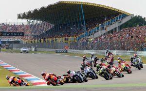 Hostesses Dutch MotoGP