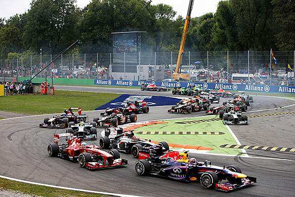 Italian Formula 1 GP - Monza 2019 - Golden Goose Events