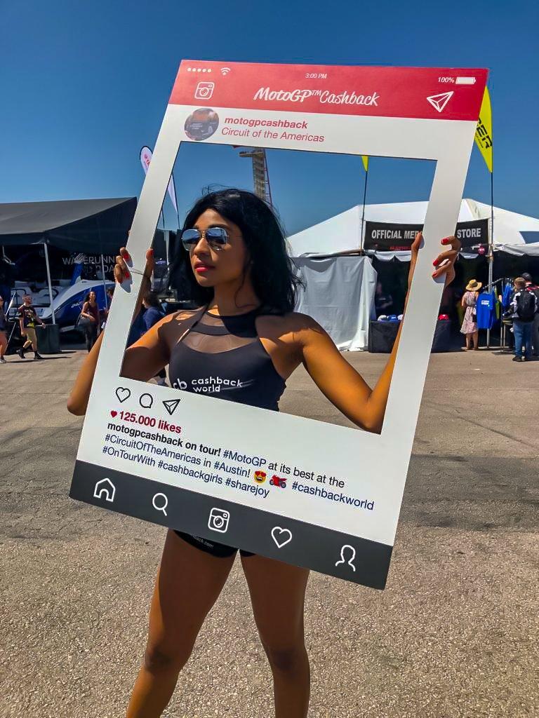Promo Staff - American MotoGP – Austin Texas