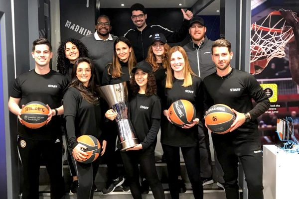 Euroleague Street Arena - Staff for Sport Events