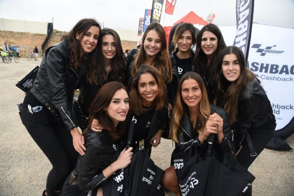 Umbrella Girls - MotoGP