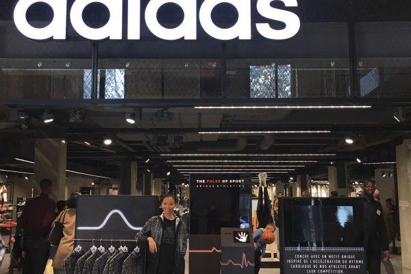 ZNE Adidas - Sport Hostess Paris - Brand Ambassador