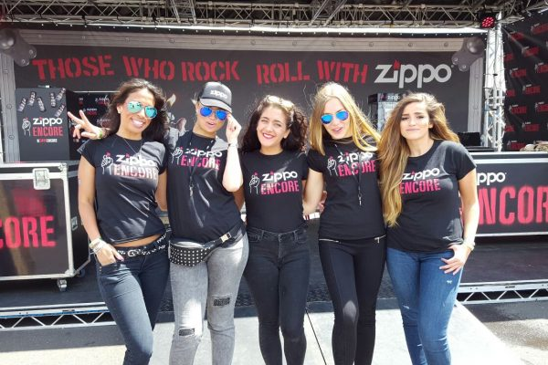 Hostesses Dusseldorf - ZIPPO Rock am Ring