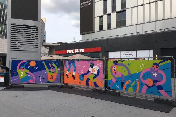 Brand Activation Berlin Euroleague Basketball Street Arena
