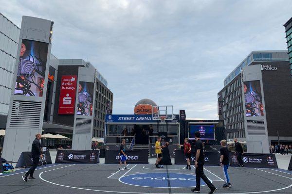 Euroleague Basketball Street Arena Brand Activation