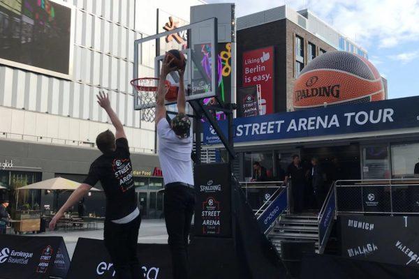 Euroleague Basketball Street Mercedes Arena Brand Activation