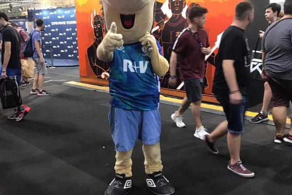 Mascots Athens - LEC Athens Sept 2019