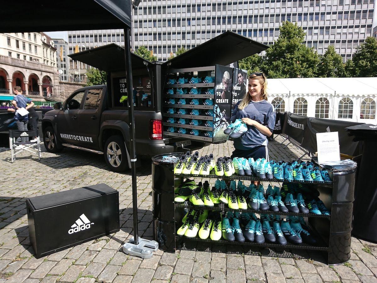 Brand Ambassadors Stockholm - Adidas Brand Activation Stockholm