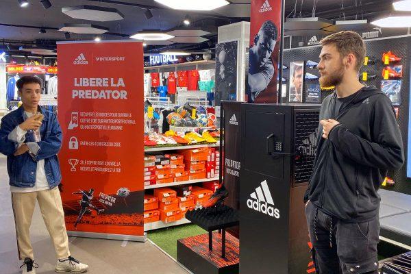 Hostesses Lyon - Adidas Predator Activation Lyon